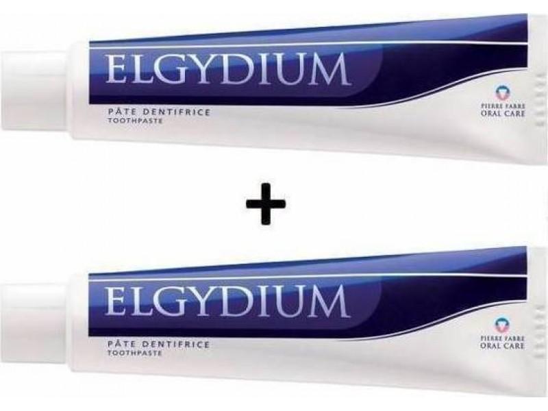 Elgydium Antiplaque Οδοντόπαστα Jumbo 2x100ml(-50% Στο 2ο Προϊόν)