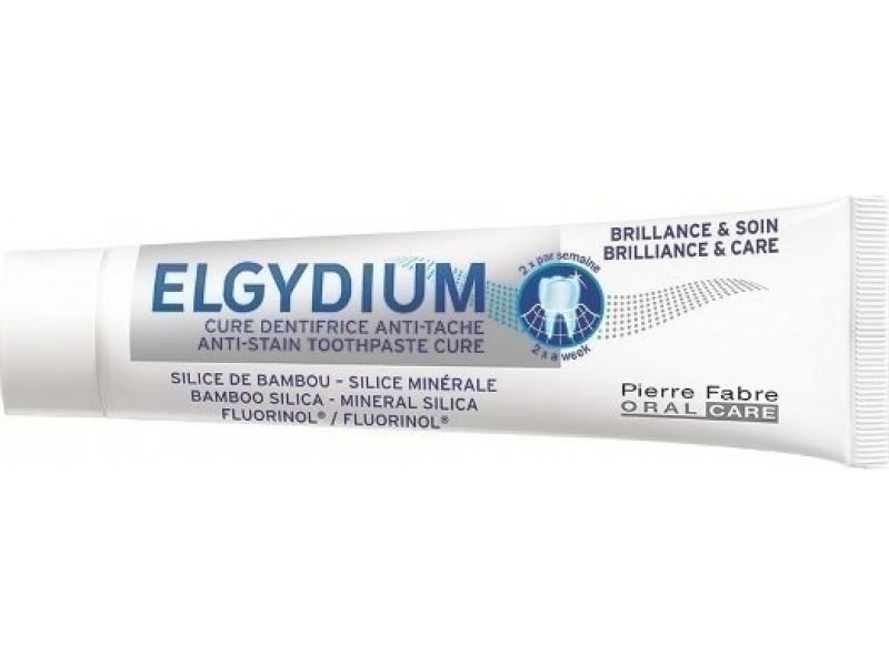 Elgydium Brilliance & Care Λευκαντική Οδοντόπαστα Τζελ 30ml