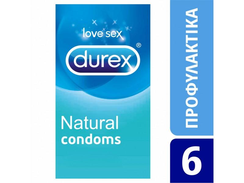 Durex Natural 6τεμ