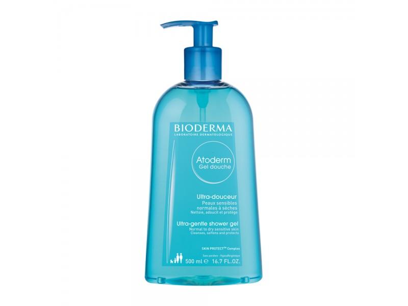 Bioderma Atoderm Ultra-Gentle Shower Gel Normal to Dry Sensitive Skin 500 ml