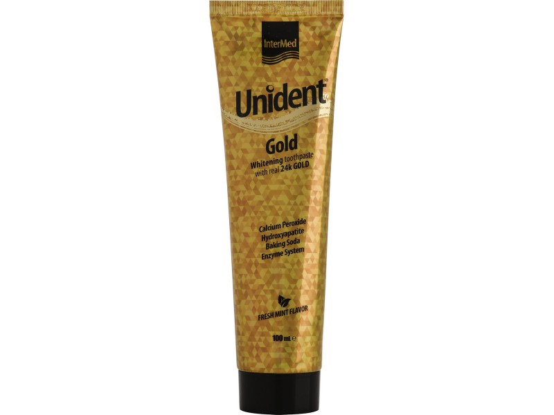 Intermed Unident Gold Οδοντόκρεμα 100ml