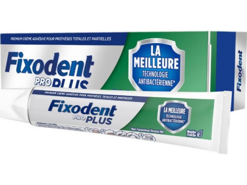 Fixodent Pro Plus Antibacterial Technology 40gr