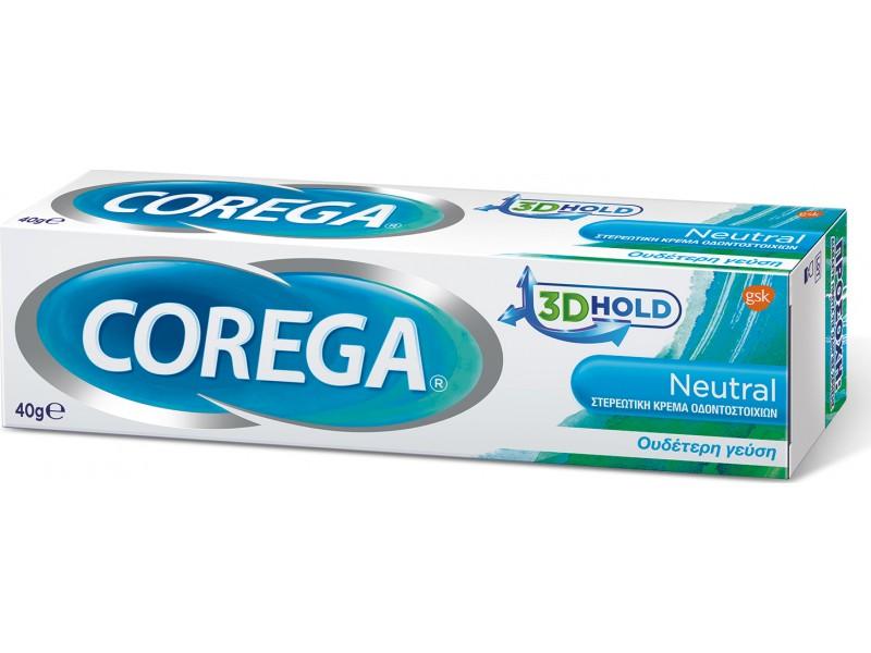 Corega 3D Hold Neutral 40g