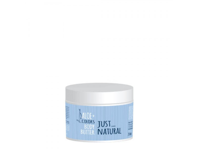 Aloe+Colors Body Butter Just Natural 200ml