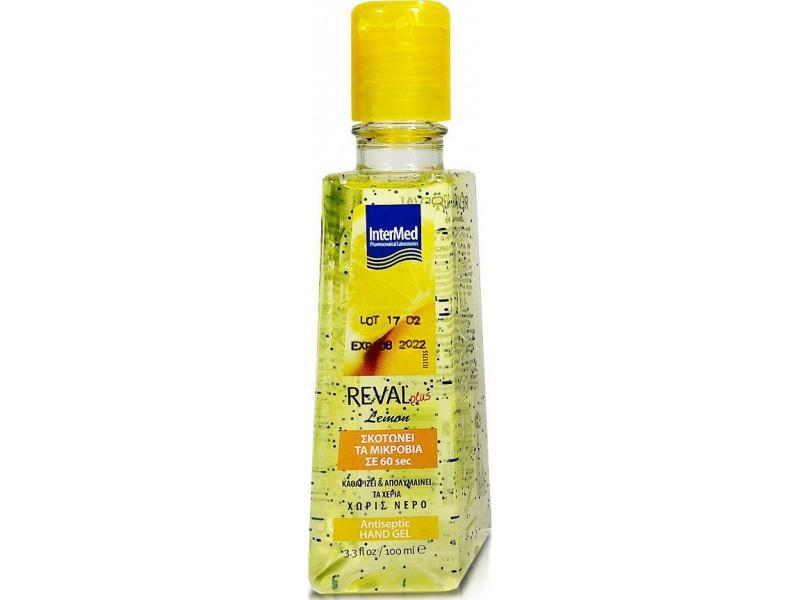 Intermed Reval Hand gel Lemon 100ml