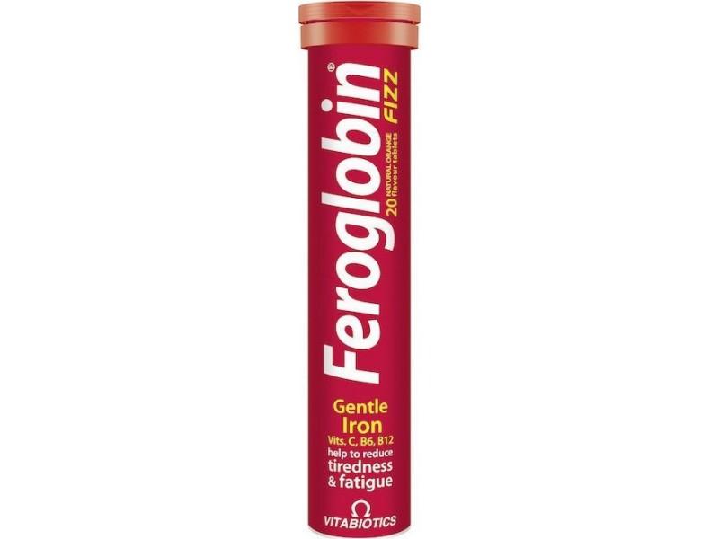 Vitabiotics Feroglobin Fizz 20 Αναβράζουσες Ταμπλέτες