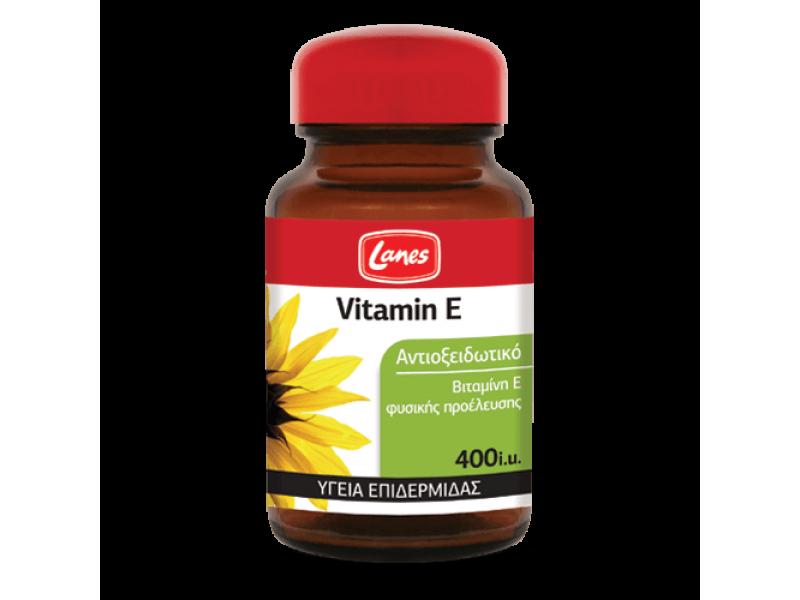 Lanes Vitamin E 400iu 30 Κάψουλες