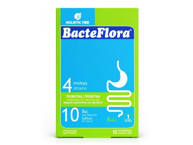 Holistic Med Bacteflora 10 κάψουλες