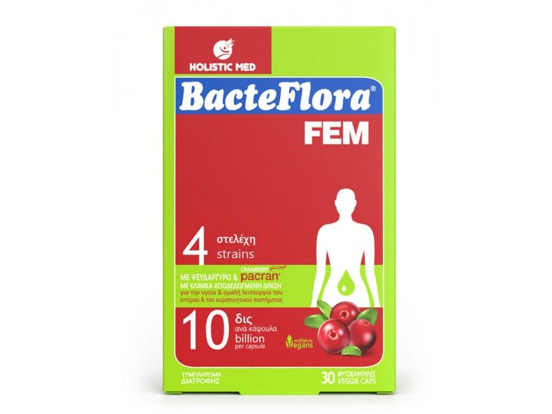 Holistic Med BacteFlora Fem 30 κάψουλες