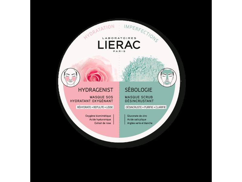 Lierac Hydragenist & Sebologie Mask 2x6ml