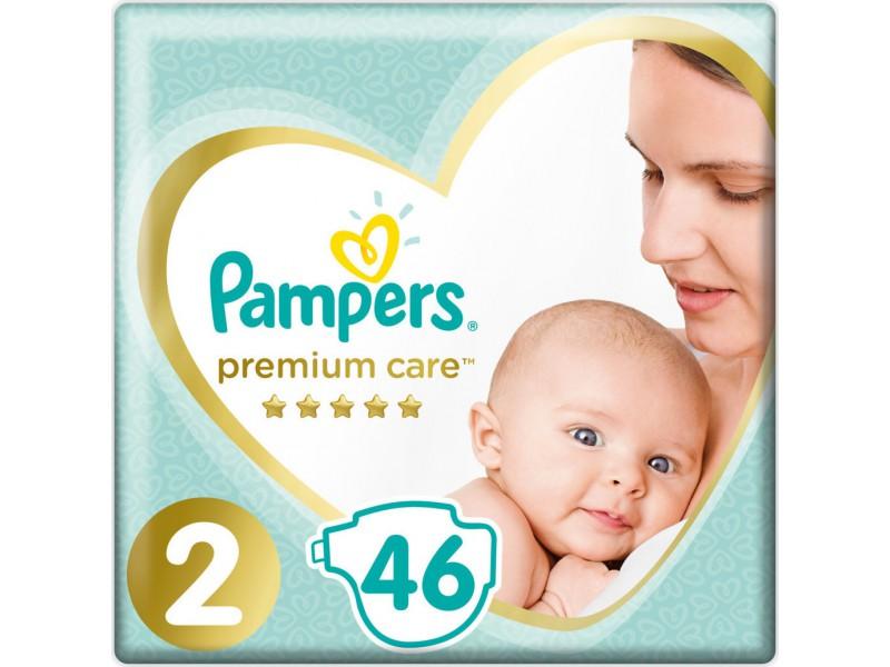 Pampers Premium Care Νo 2 (4-8kg) 46τμχ