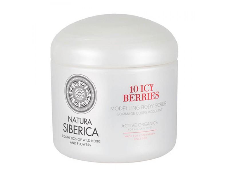 Natura Siberica 10 Icy Berries Modeling Body Scrub 370ml
