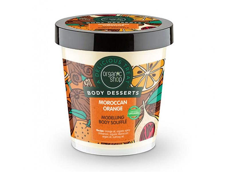 Organic Shop Body Desserts Moroccan Orange Modeling Body Souffle 450ml