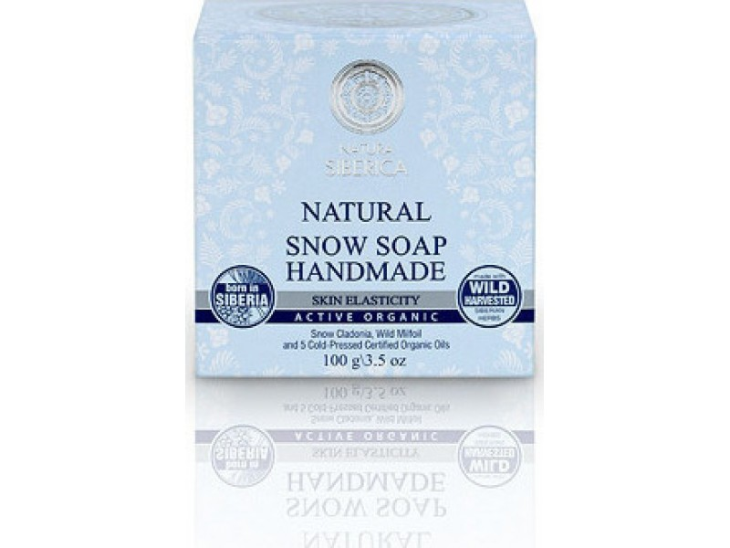 Natura Siberica Snow Handmade Soap 100gr
