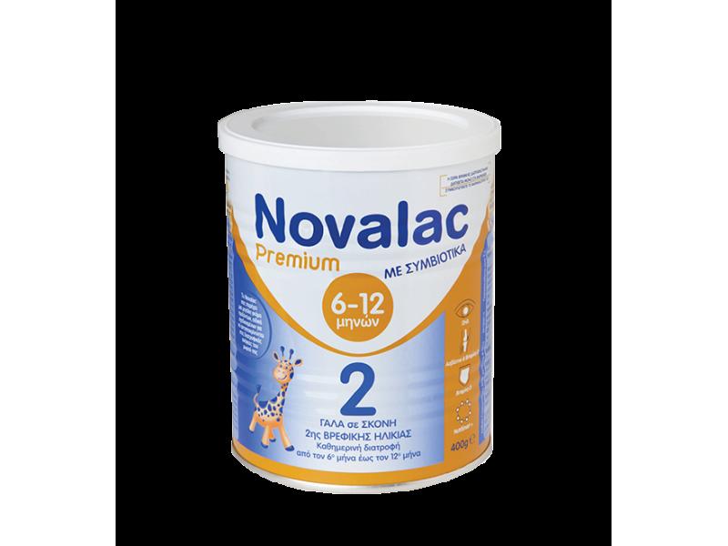 Novalac Premium 2 Βρεφικό Γάλα 400gr