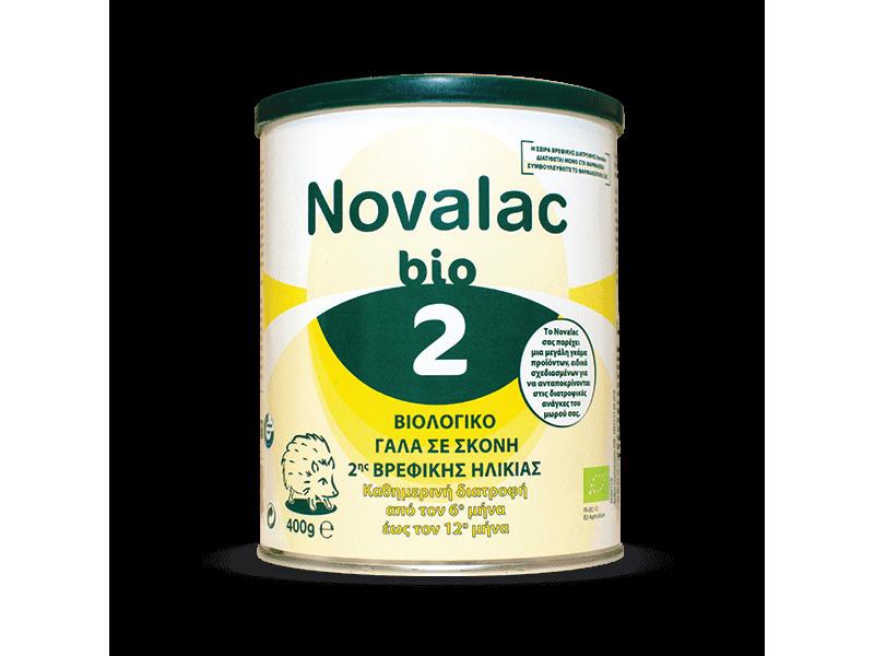Novalac Bio 2 Βρεφικό Γάλα 400gr