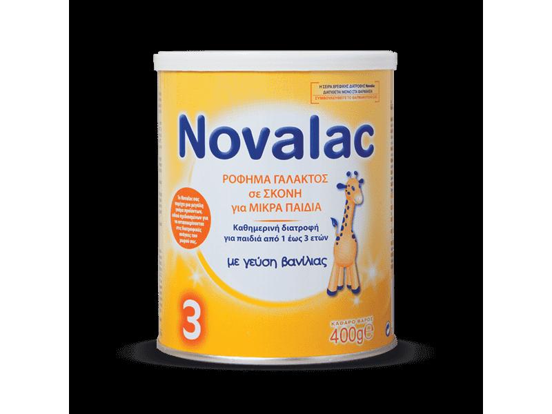Novalac 3 Γάλα 400gr