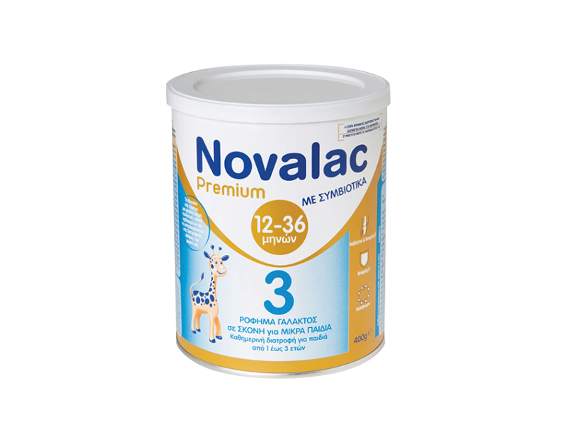 Novalac Premium 3 Γάλα 400gr
