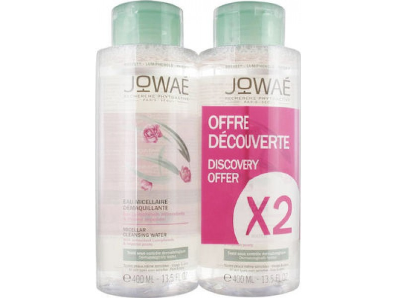 Jowae Eau Micellaire Demaquillante 2x400 ml