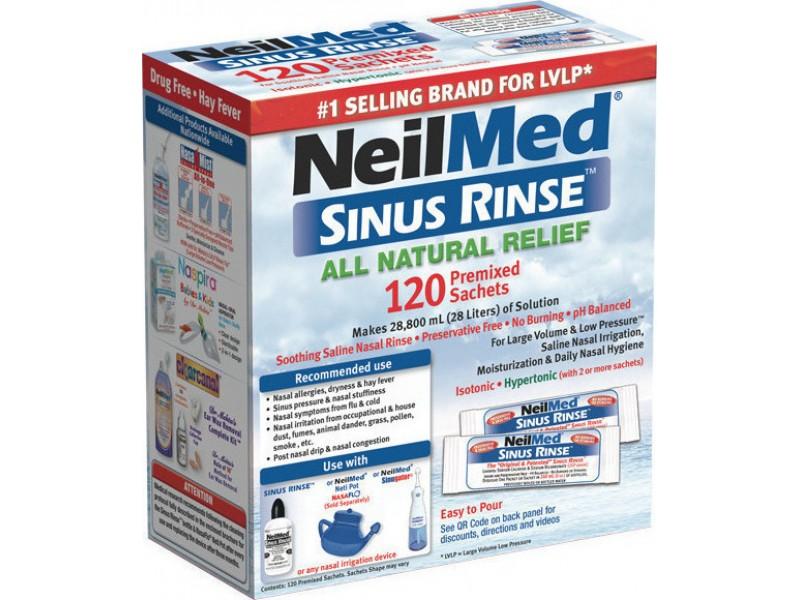 NeilMed Sinus Rinse Φακελάκια για Ενήλικες 120τμχ