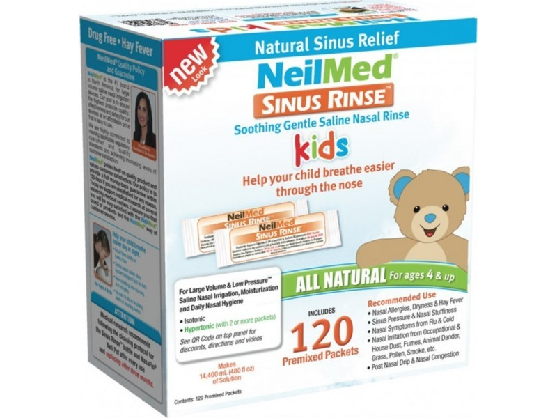 NeilMed Sinus Rinse Φακελάκια για Παιδιά 120τμχ