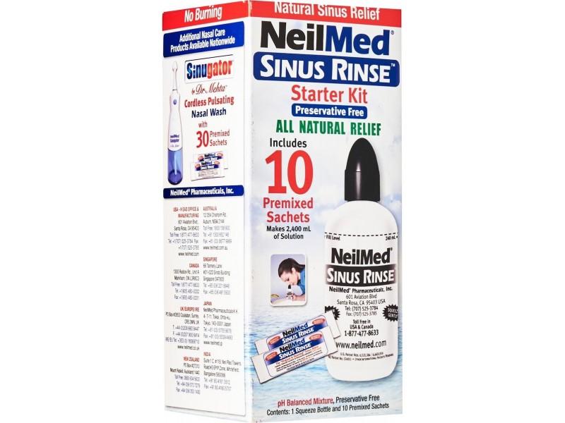 NeilMed Sinus Rinse Kit για Ενήλικες +10 φακελάκια