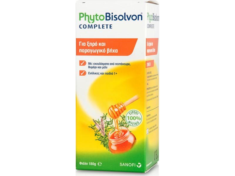 Phytobisolvon Complete Σιρόπι 180gr