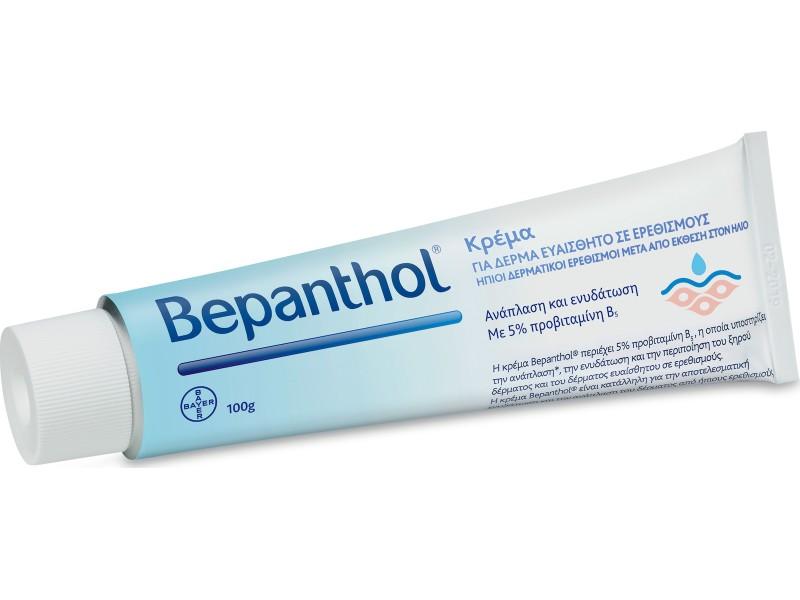 Bepanthol Κρέμα για Ερεθισμένο και Ευαίσθητο Δέρμα 100 g