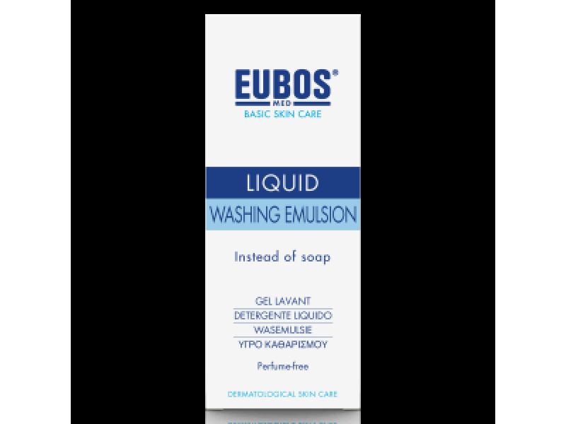Eubos Blue Liquid Washing Emulsion 200 ml