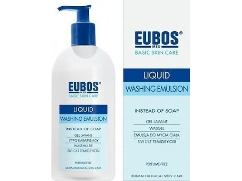 Eubos Blue Liquid Washing Emulsion 400 ml
