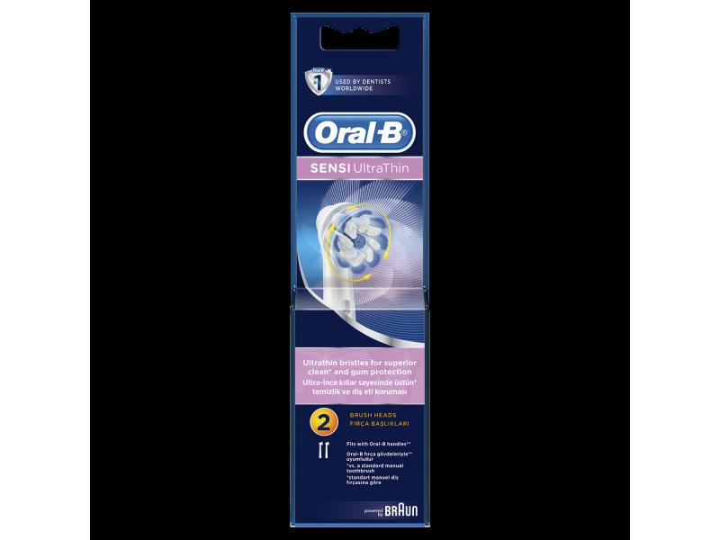 Oral-B SENSI UltraThin Ανταλλακτικές Κεφαλές 2 τμχ