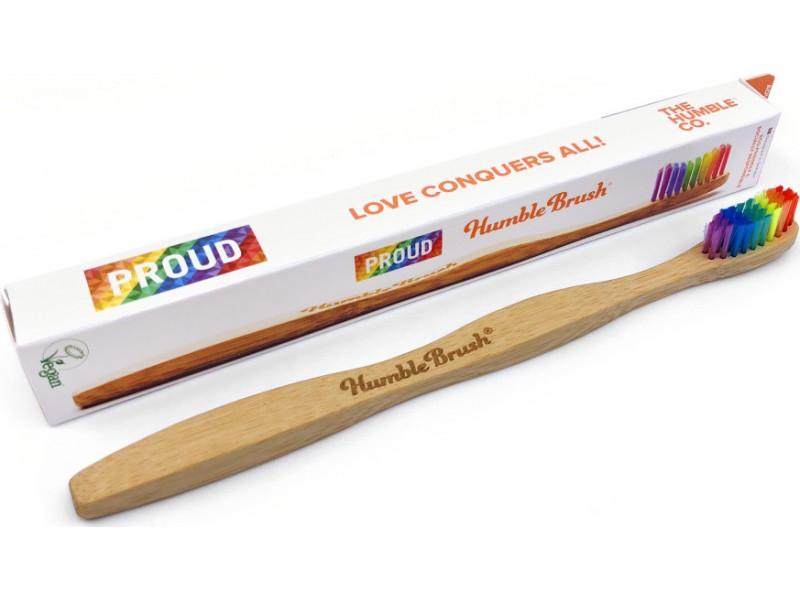 The Humble Co. Proud Soft Οδοντόβουρτσα για Ενήλικες