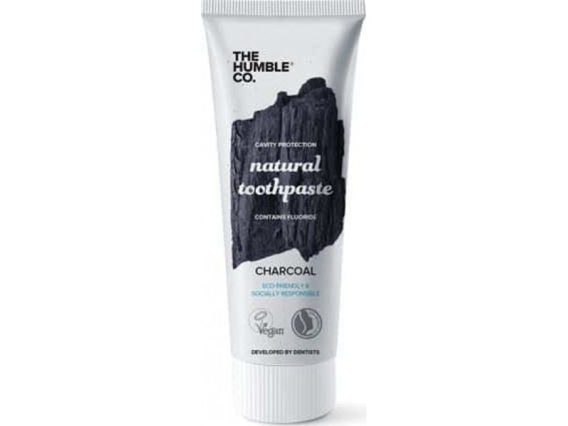 The Humble Co. Natural Toothpaste Ενεργός Άνθρακας 75ml