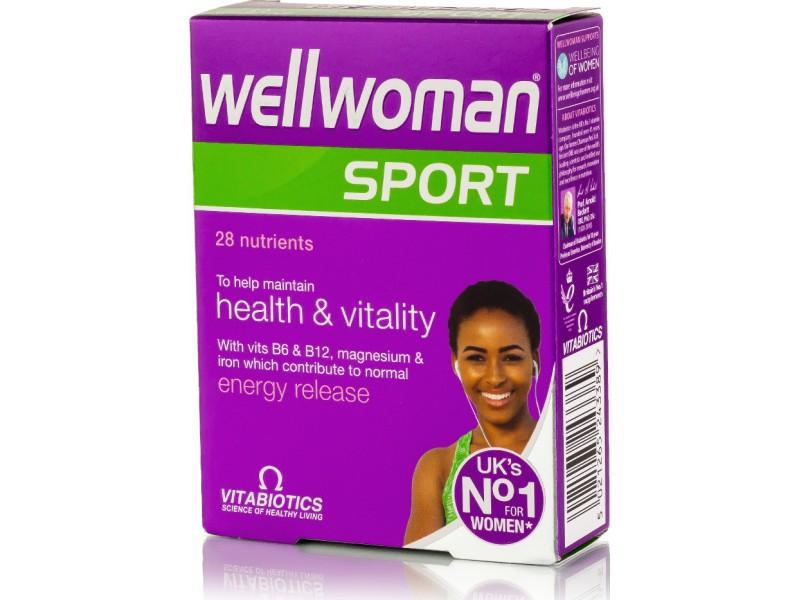 Vitabiotics Wellwoman Sport 30 ταμπλέτες