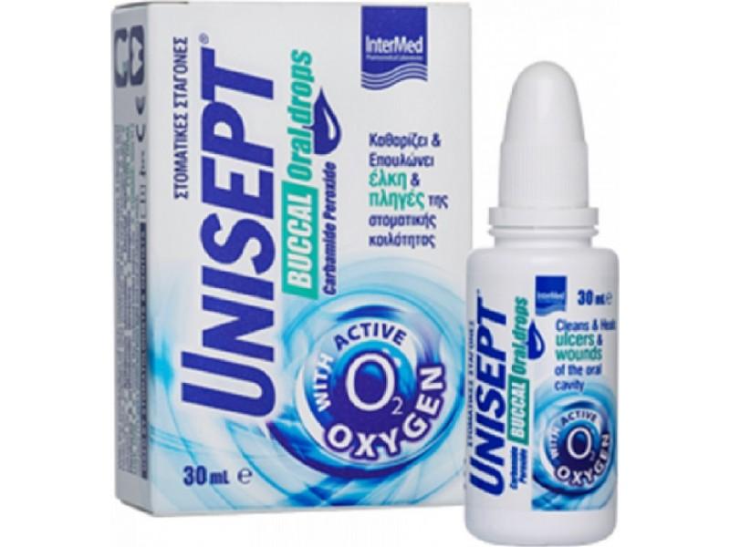 Intermed Unisept Buccal Drops 30ml