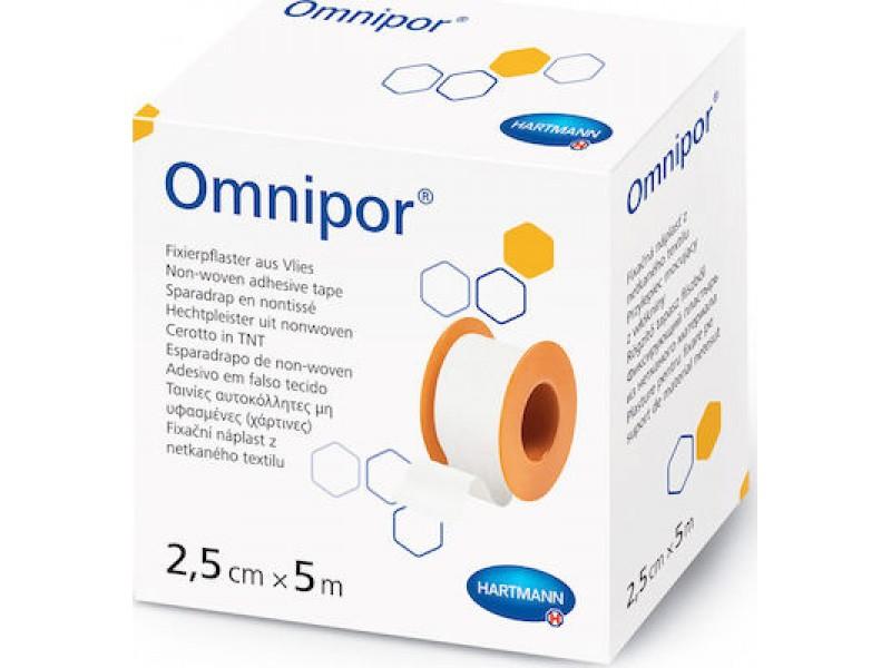 Hartmann Omnipor Non-Woven Adhesive Tape 2.5cm x 5m