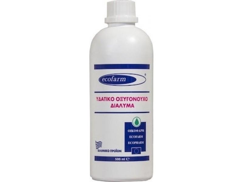 Ecofarm Υδατικό Οξυγονούχο Διάλυμα (Οξυζενέ) 500 ml