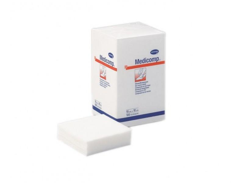Hartmann Medicomp Μη Αποστειρωμένες Γάζες 5 x 5 cm 100 Τεμάχια