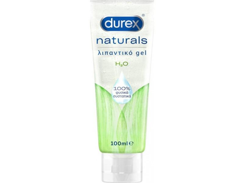 Durex Naturals Ενυδατικό Λιπαντικό Gel με 100% Φυσικά Συστατικά