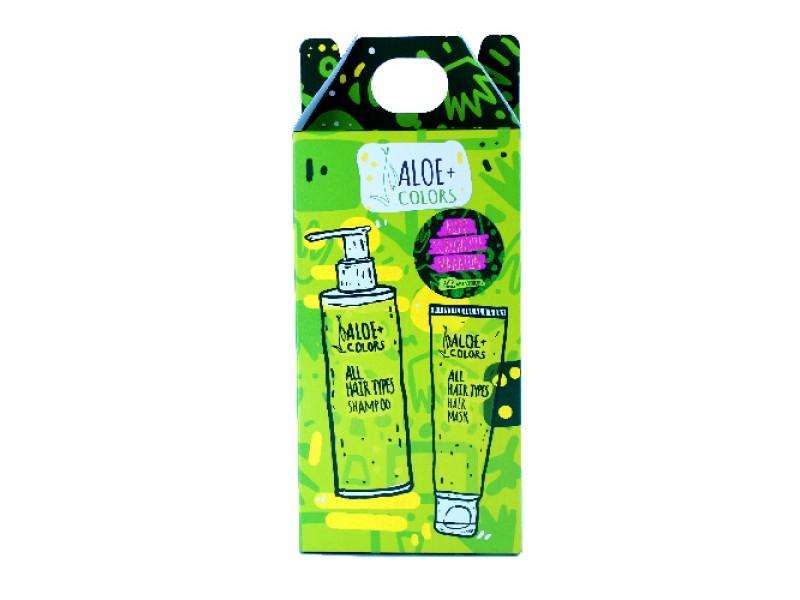 Aloe+ Shampoo and Hair Mask Set all Hair Types