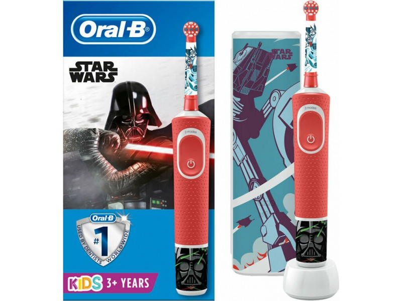 Oral-B Kids 3+ Years Star Wars (+ΘΗΚΗ ΤΑΞΙΔΙΟΥ)