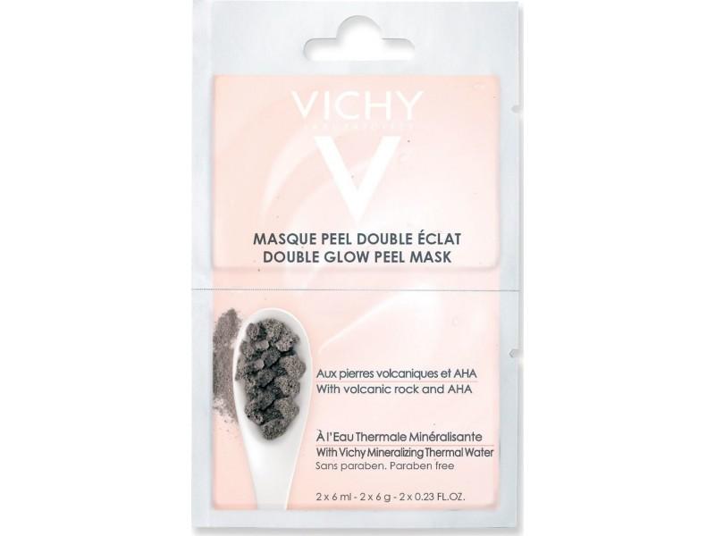 Vichy Double Glow Peel Mask Volcanic Rock & AHA 2x6ml