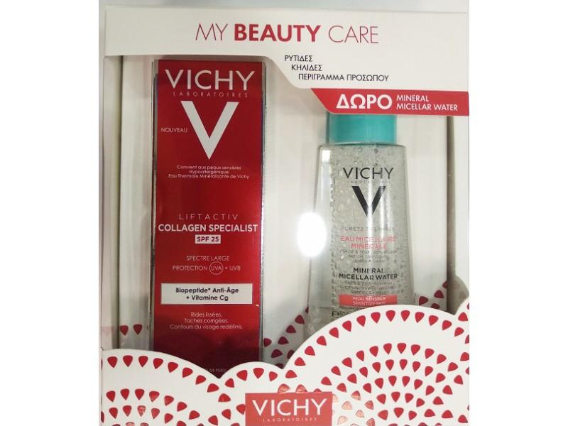VICHY Liftactiv Collagen Specialist SPF 25 50ml(+ΔΩΡΟ EAU MICELLAIRE 100ML)
