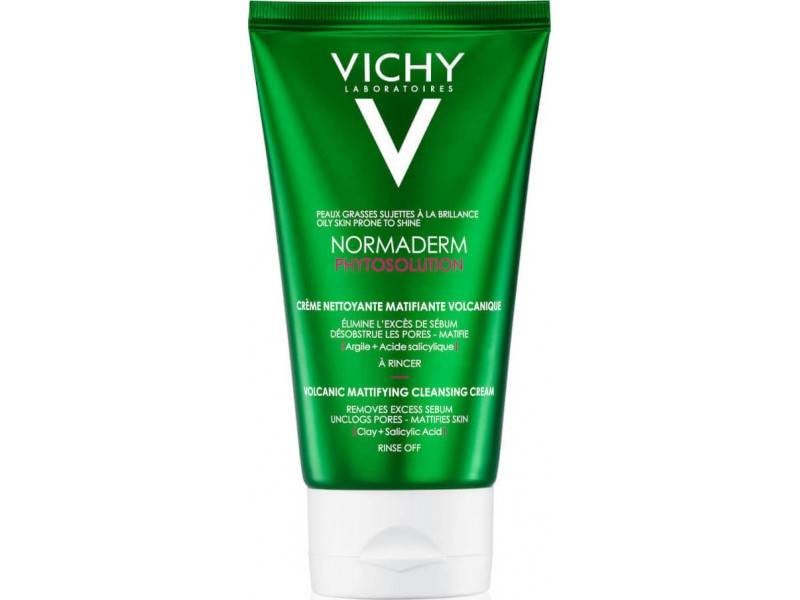 Vichy Normaderm Phytosolution Volcanic Mattifying Cleanser 125ml
