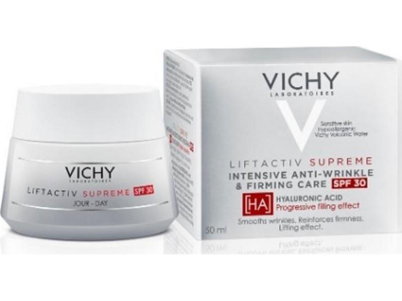 Vichy Liftactiv Supreme intensive Anti-Wrinkle & Firming Care Spf30 Κρέμα Ημέρας 50ml
