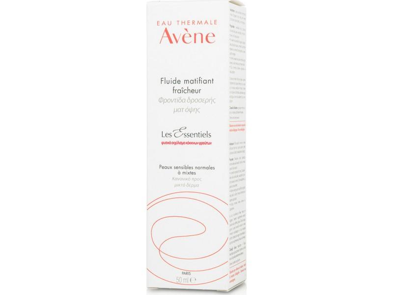 Avene Les Essentiels Refreshing Mattifying Fluid 50ml