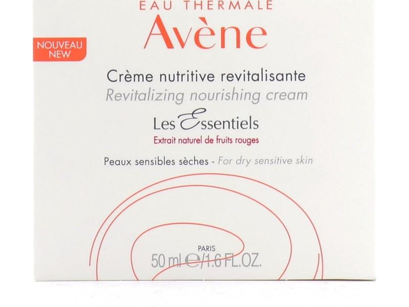 Avene Les Essentiels Revitalizing Nourishing Cream 50ml