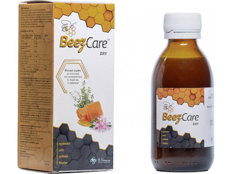 ILS Pharma BeezCare Dry Φυτικό Σιρόπι Καταπράυνση Λαιμού & Φάρυγγα 140 ml