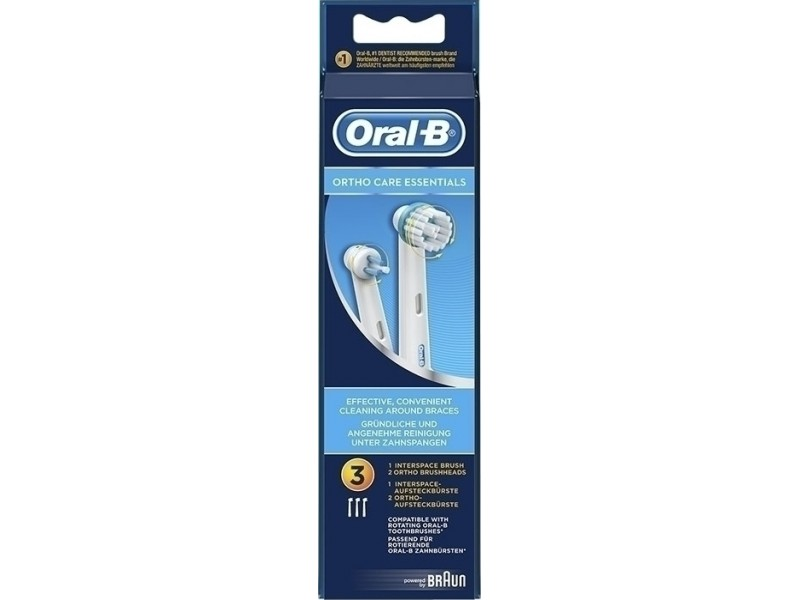 Oral-B Ortho Care Essentials 2+1 3 τμχ