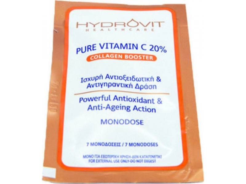 Target Pharma Hydrovit Pure Vitamin C 20% Collagen Booster Monodose 7Caps